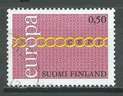 Finlande YT N°654 Europa 1971 Oblitéré ° - 1971