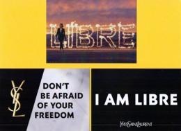 3 Werbekarten Von Yves Saint Laurent - Libre - Sonstige