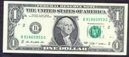 USA 1 Dollars 2009 B  - UNC # P- 530 < B - New York NY > - Bilglietti Della Riserva Federale (1928-...)