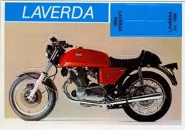 LAVERDA - MOTOCICLETA , MOTORCYCLE , MOTORRAD - CROMO / FOTOGRAFIA TROQUELADO AÑOS 70 , ED. DIDEC , RARO - Otros