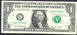 USA 1 Dollars 2013 G  - UNC # P- 537 < G - Chicago IL > - Bilglietti Della Riserva Federale (1928-...)