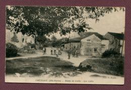 """CHEZEAUX  (52) : """" ROUTE DE COIFFY - Les Cafés """" - France"""