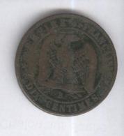 10 Centimes France 1855 B - France