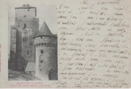 CPA Précurseur Château De Galinières - Canton De Saint-Geniez - Frankreich