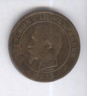 10 Centimes France 1855 MA - France