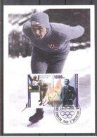 Olympic Games Garmisch-Partenkirchen 1936 - Skating - Ivar Ballangrud On CM Guinea (to See) - Winter 1936: Garmisch-Partenkirchen