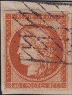 France  .   Yvert    .  5  (2 Scans)         .   O    .    Oblitéré   .   /   .    Cancelled - 1849-1850 Ceres
