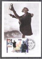 Olympic Games St Moritz 1928 - Figure Skating - Sonja Henie On CM Guinea (to See) - Winter 1928: St-Moritz