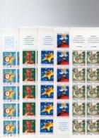 Lot De 5 Carnets Croix Rouge 1995 - 96 - 97 - 98 - 99 - Croix Rouge