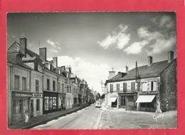 CPSM  Grand Format- 4 - Contres   (L. -et-C.) Route De Blois - Contres