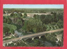 CPSM  Grand Format- En Avion Au Dessus De... 5 - Pierrefitte Sur Sauldre    (L. -et-C.) -Le Pont Sur La Sauldre - Andere Gemeenten