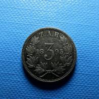 South Africa 3 Pence 1895 Silver - Südafrika