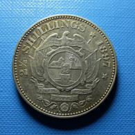 South Africa 2 1/2 Shillings 1897 Silver - Sudáfrica