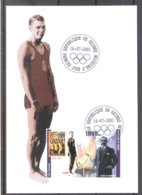 Olympic Games Paris 1924 - Swimming - Johnny Weismuller On CM Guinea (to See) - Summer 1924: Paris