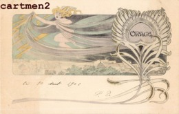 "ILLUSTRATEUR LEO LELEE "" ORAGE "" SURREALISME FEMME NU EROTISME ART NOUVEAU 1900 - Other Illustrators"