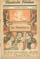 Vlaamsche Filmkens 329 Een Waterhistorie Richard Turf 1937 GROOT FORMAAT: 16x23,5cm Averbode's Jeugbibliotheek KWATTA - Vecchi