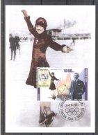 Olympic Games Lake Placid 1932 - Figure Skating - Sonja Henie - On CM Guinea (to See) - Winter 1932: Lake Placid