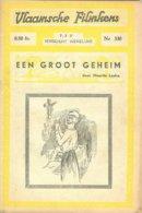 Vlaamsche Filmkens 330 Een Groot Geheim M Laska 1937 GROOT FORMAAT: 16x23,5cm Averbode's Jeugbibliotheek KWATTA - Oud