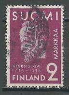 Finlande YT N°179 Aleksis Kivi Oblitéré° - Finlandia
