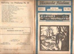 Vlaamsche Filmkens 335 Marieke Van Den Houthakker D Ickx 1937 GROOT FORMAAT: 16x23,5cm Averbode's Jeugbibliotheek - Vecchi