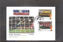 Football Coupe Du Monde 1998 France - FDC Guyana - Brésil-Norvège (à Voir) - Copa Mundial
