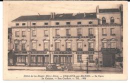 Cpa Châlons-sur-Marne / Hôtel De La Haute Mère-Dieu - Sa Cave , Sa Cuisine , Son Confort. - Châlons-sur-Marne