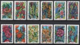 France - Adhésifs N° 1300 à 1311 Oblitérés - Série Complète - Botanique - Fleurs - Frankrijk