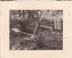 Foto Stellungsbau - Unser Luftschutz-Keller - 2. WK - 5,5*4cm (43869) - Krieg, Militär
