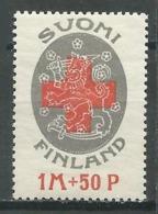Finlande YT N°108 Croix-Rouge Neuf/charnière * - Nuevos
