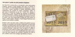 2013 Albania Albanie Postal History Booklet Carnet  MNH - Albanië