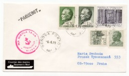 1979 YUGOSLAVIA, SHIP MAIL, MB NIKOLA TESLA, CANCELATION IN ITALY, GENOVA PORTO - Covers & Documents
