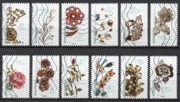 France - Adhésifs N° 1410 à 1421 Oblitérés - Série Complète - Fleurs Et Métiers D'Art - France