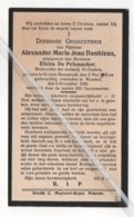 ALEXANDER-MARIE-JEAN DANHIEU ° ST.JANS MOLENBEEK 1903  + MOORSEL 1933 / E. DE PELSMAEKER/ BESTUURDER MELKERIJ ST. GUDULA - Imágenes Religiosas