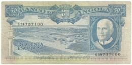 Angola - 50 Escudos - 10.06.1962 - Pick 93 - Série 6 SW - Américo Tomás - PORTUGAL - Angola