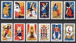 France - Adhésifs N° 1478 à 1489 Oblitérés - Série Complète - Arts Du Cirque - Francia