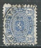 Finlande YT N°16 Oblitéré ° - 1856-1917 Russian Government
