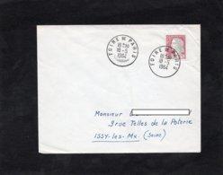 LSC 1964 - Cachet FOIRE DE PARIS Sur YT 1263 - Storia Postale
