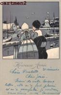 ILLUSTRATEUR M.M. VIENNE M. MUNK Nr. 432 ENFANTS NEDERLAND PAYS-BAS VOLENDAM VIENNOISE 1900 - Illustratori & Fotografie