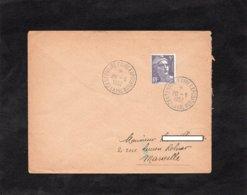 LSC 1952 - LAVAL - Cachet CENTENAIRE FOIRE EXPOSITION Sur YT 883 - Storia Postale