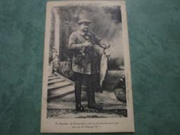 M. PASQUIER, Avec Un Brochet De 11 Livres Pris Sur Fil Diamant N°1 - Chateaudun