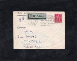 LSC 1938 -  Cachet PARIS DEPART -  YT 369 Seul Sur Lettre - Marcophilie (Lettres)