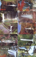 10 Telecartes Japon Chute D'eau - WATERFALL – Watervallen - WASSERFALL ( Lot A- 165) - Paisajes