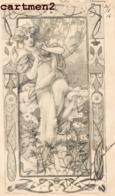 ILLUSTRATEUR PINKAWA ANTON STYLE ART NOUVEAU M.M. VIENNE Nr. 122 - Ilustradores & Fotógrafos