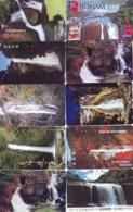 10 Telecartes Japon Chute D'eau - WATERFALL – Watervallen - WASSERFALL ( Lot A- 169) - Paisajes