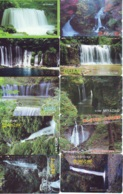 10 Telecartes Japon Chute D'eau - WATERFALL – Watervallen - WASSERFALL ( Lot A- 172) - Paisajes