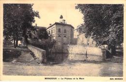 32 - MIRADOUX : Le Plateau Et La Mare - CPA Village (500 Habitants) - Gers - Francia