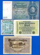 All  7  Billets - 1933-1945: Drittes Reich