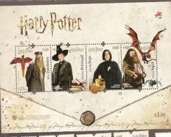 Portugal ** & Harry Potter 2019 (9129) - Blocchi & Foglietti