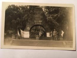 Carte Photo, GRABMAL MARCEAU, Tombe Du Général Des Armées De La Révolution Française, François Séverin Marceau, 1923 - Koblenz