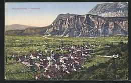 Cartolina Mezocorona, Panorama - Italy